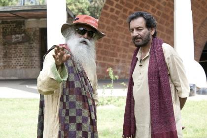 Sekhar Kapoor with Sadhguru