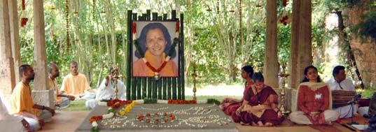 Jaggi Vasudev's wife's samadhi